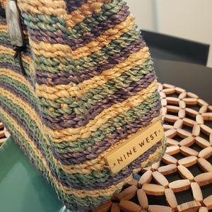 Ninewest Woven Handbag